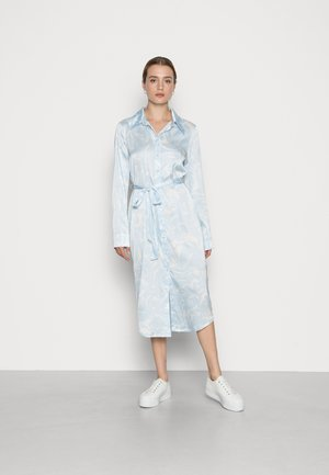 CHRISTINE DRESS - Robe chemise - blue