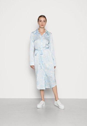 CHRISTINE DRESS - Shirt dress - blue