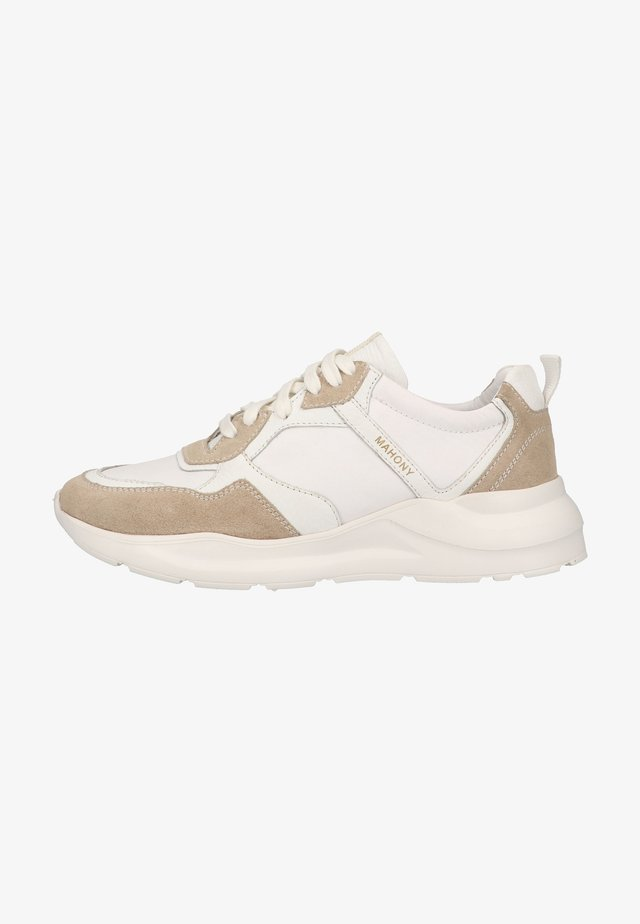 Trainers - beige/white