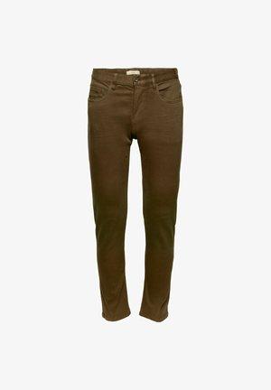 SLIM FIT - Jeans slim fit - dark khaki