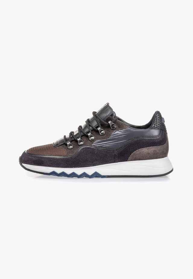 Sneakers laag - darkbrown