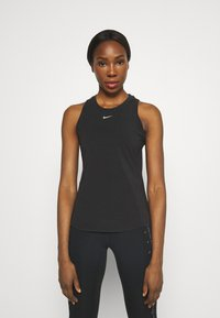 Nike Performance - ONE LUXE TANK - Top - black - 0