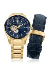 Maserati - Horloge - gold/blau - 8