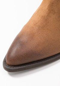 Marco Tozzi - Cowboy/biker ankle boot - camel - 2