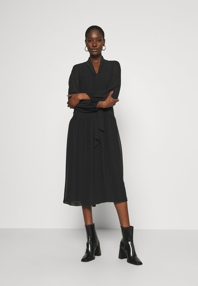 DAY PROTECT - Maxi dress - black