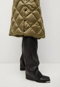 Mango - CROCO - Winter coat - khaki - 5