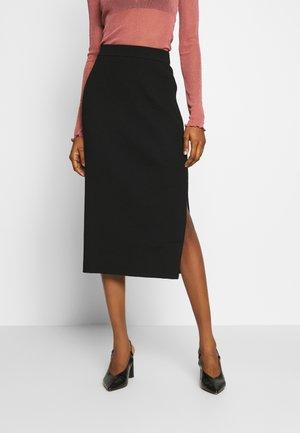 OCTAVIA SKIRT - Pencil skirt - black