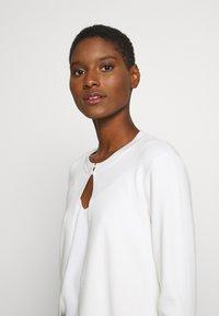Esprit Collection - ECOVERO BOLERO - Cardigan - off white - 3