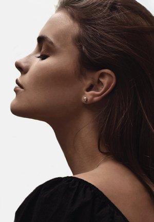 BIG BUBBLE EARRINGS - Earrings - silver