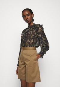 Bruuns Bazaar - BLURRY HALI - Blouse - brown - 0