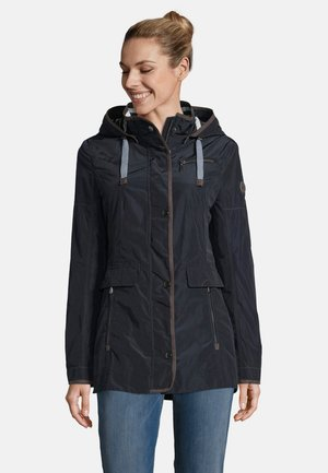 MIT ABNEHMBARER KAPUZE - Summer jacket - dark blue