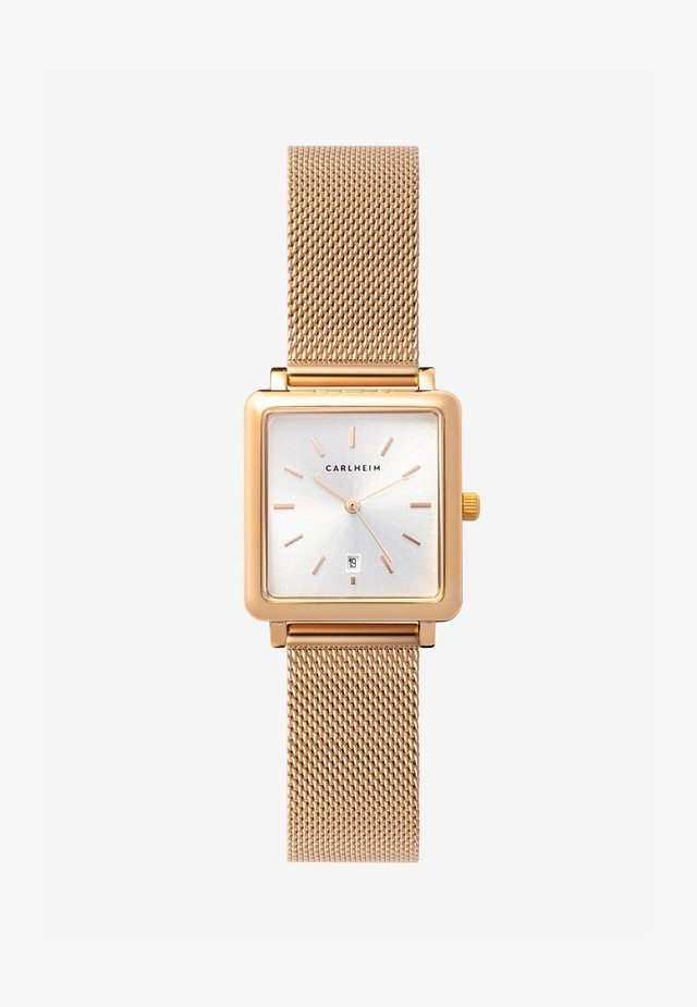 Watch - rose gold-silver