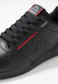 Kappa - MARABU - Zapatillas - black/red - 5