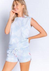 PJ Salvage - Bas de pyjama - light blue - 0