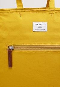 Sandqvist - TONY - Rucksack - yellow - 7