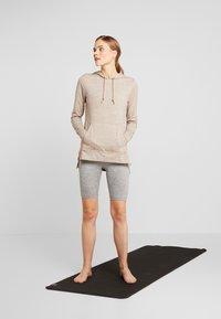 Nike Performance - YOGA COVERUP - Long sleeved top - desert dust/fossil stone - 1