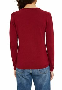 edc by Esprit - COO  - Pullover - dark red - 5