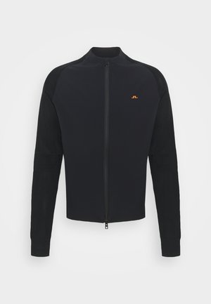 FRANK GOLF JACKET - Trainingsvest - black