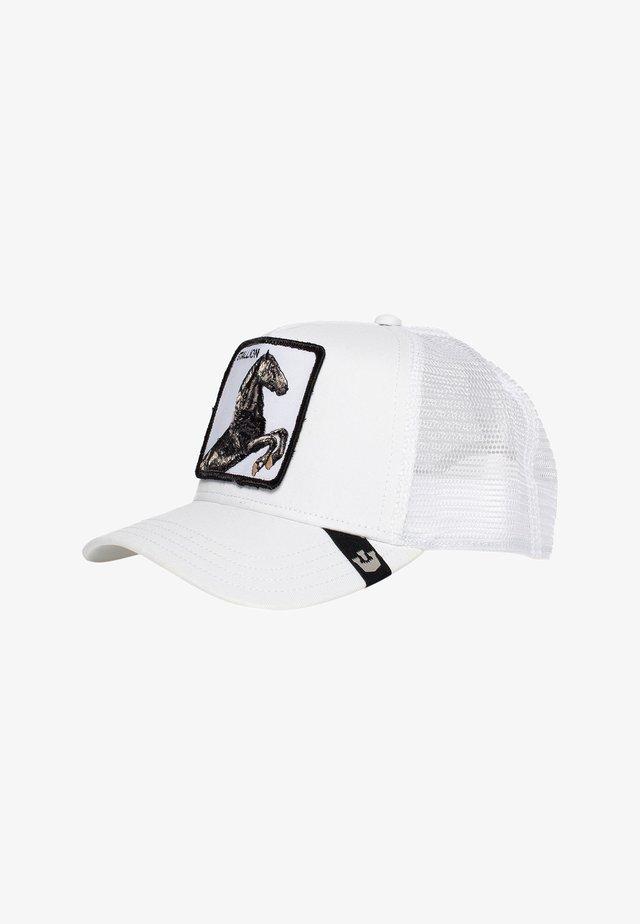 STALLION  - Cap - white