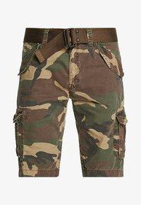 Schott - BATTLE - Shorts - khaki - 4