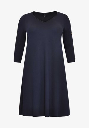 WITH LONG SLEEVES - Day dress - blue