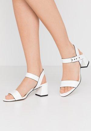 ADINA  - Sandály - white