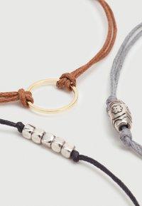 Burton Menswear London - TIE ME UP 3 PACK - Bracelet - multi-coloured - 2