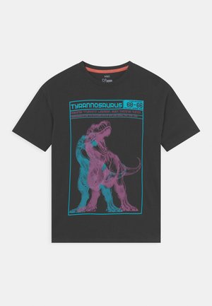 TYRON DINO - T-shirt con stampa - charcoal