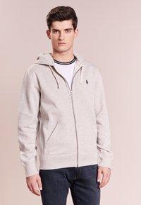 Polo Ralph Lauren - HOOD - Zip-up hoodie - light grey - 0