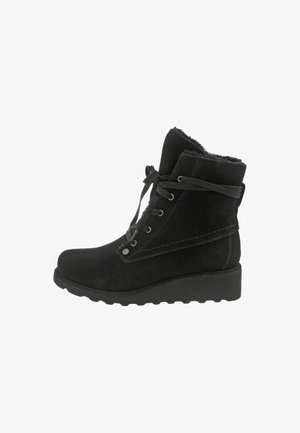 KRISTA - Wedge Ankle Boots - black