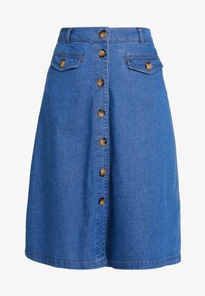 CAROLL SKIRT  - Áčková sukně - river blue