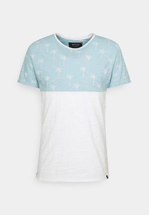 CHARLTON - T-shirt z nadrukiem - blue wave