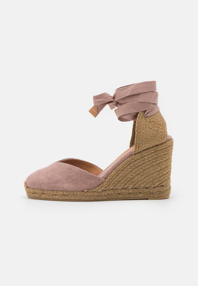 CHIARA  - Platform sandals - dusty pink