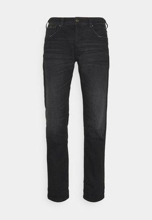 GROVER - Straight leg jeans - black denim