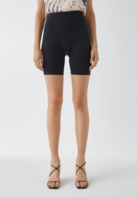 PULL&BEAR - Shorts - mottled black - 0