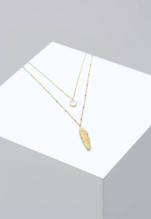 FEDER MONDSTEIN LAYER LOOK  - Necklace - gold-coloured