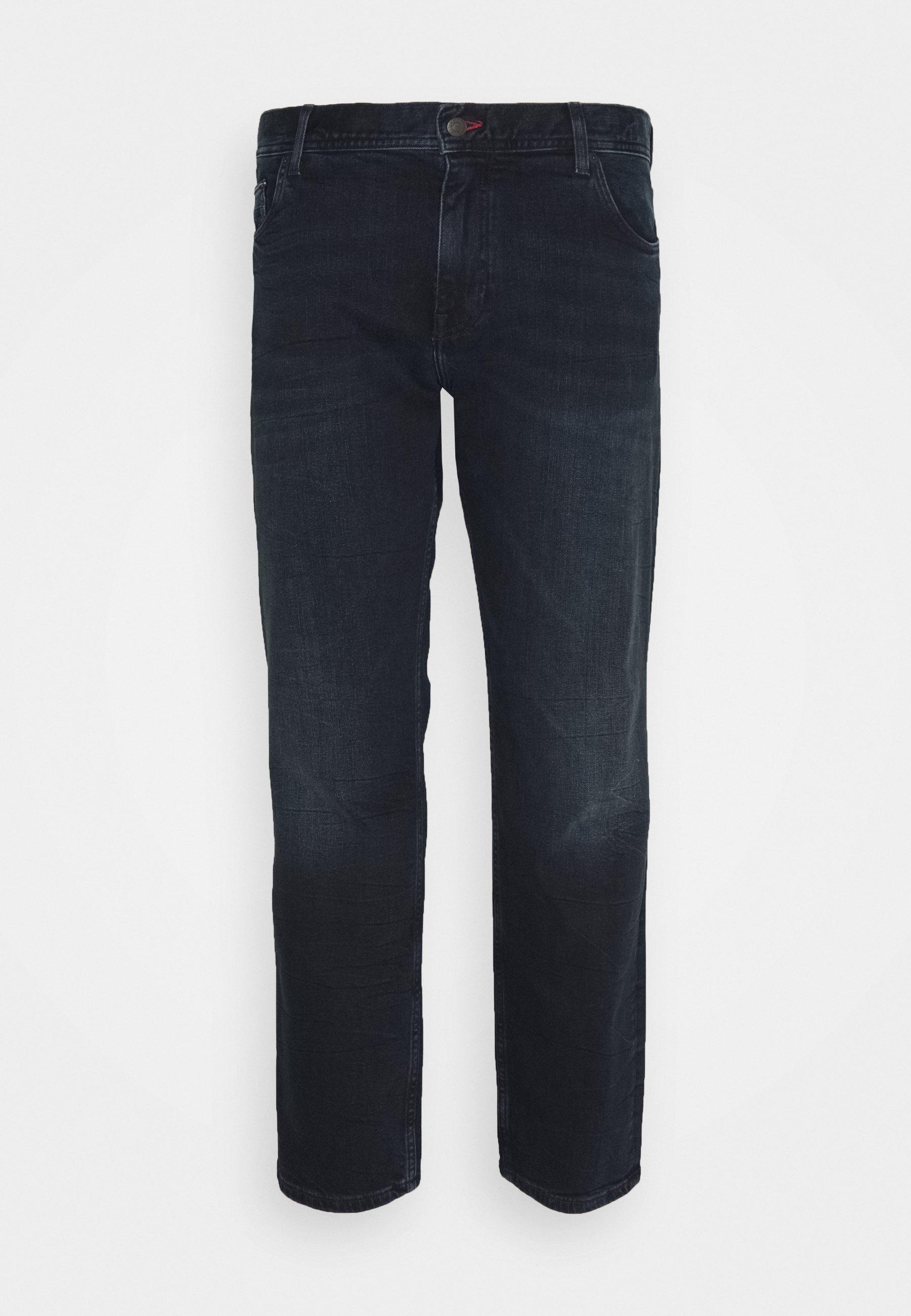 Men MADISON STR BURKE BLUE - Straight leg jeans