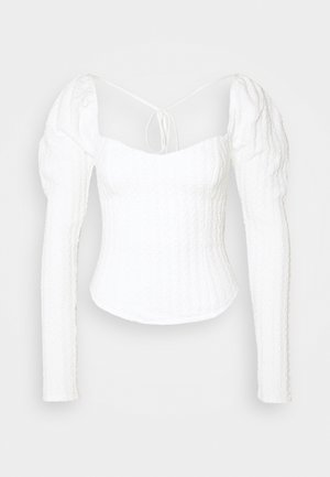 BRITTANY  - Long sleeved top - winter white