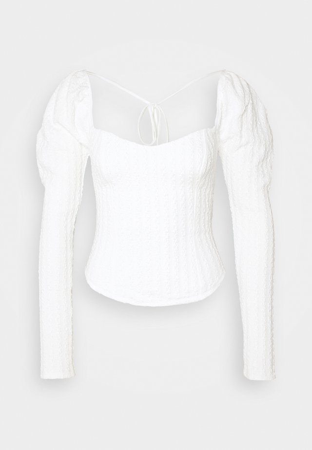 BRITTANY  - Camiseta de manga larga - winter white