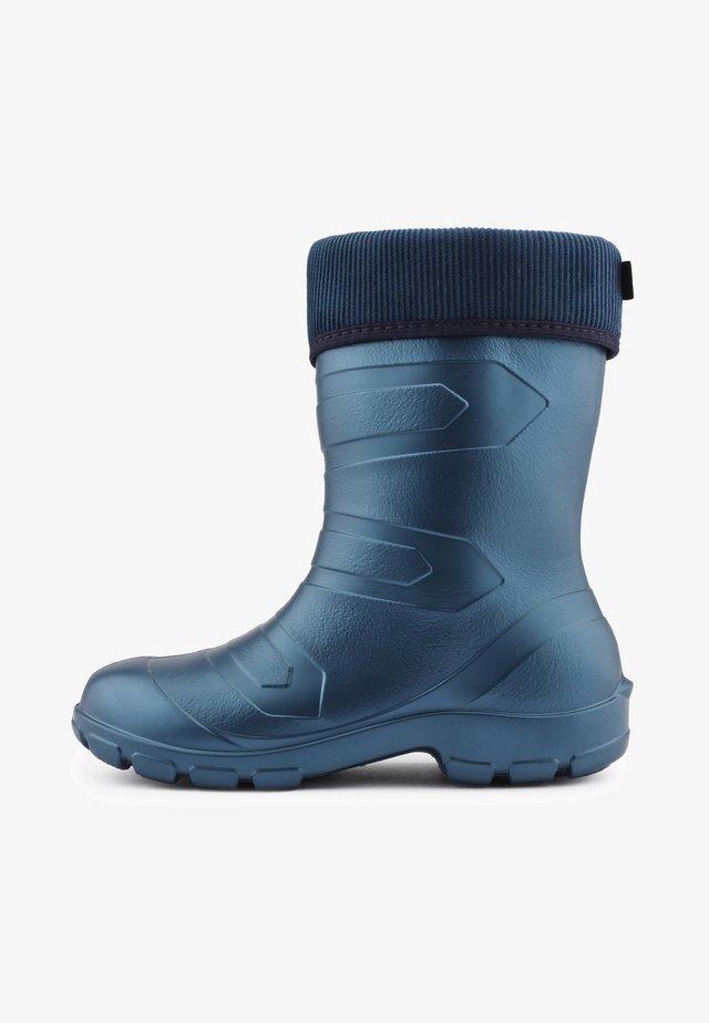 Regenlaarzen - metall blue/navy