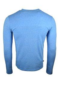 Superdry - Långärmad tröja - bright blue grit - 1
