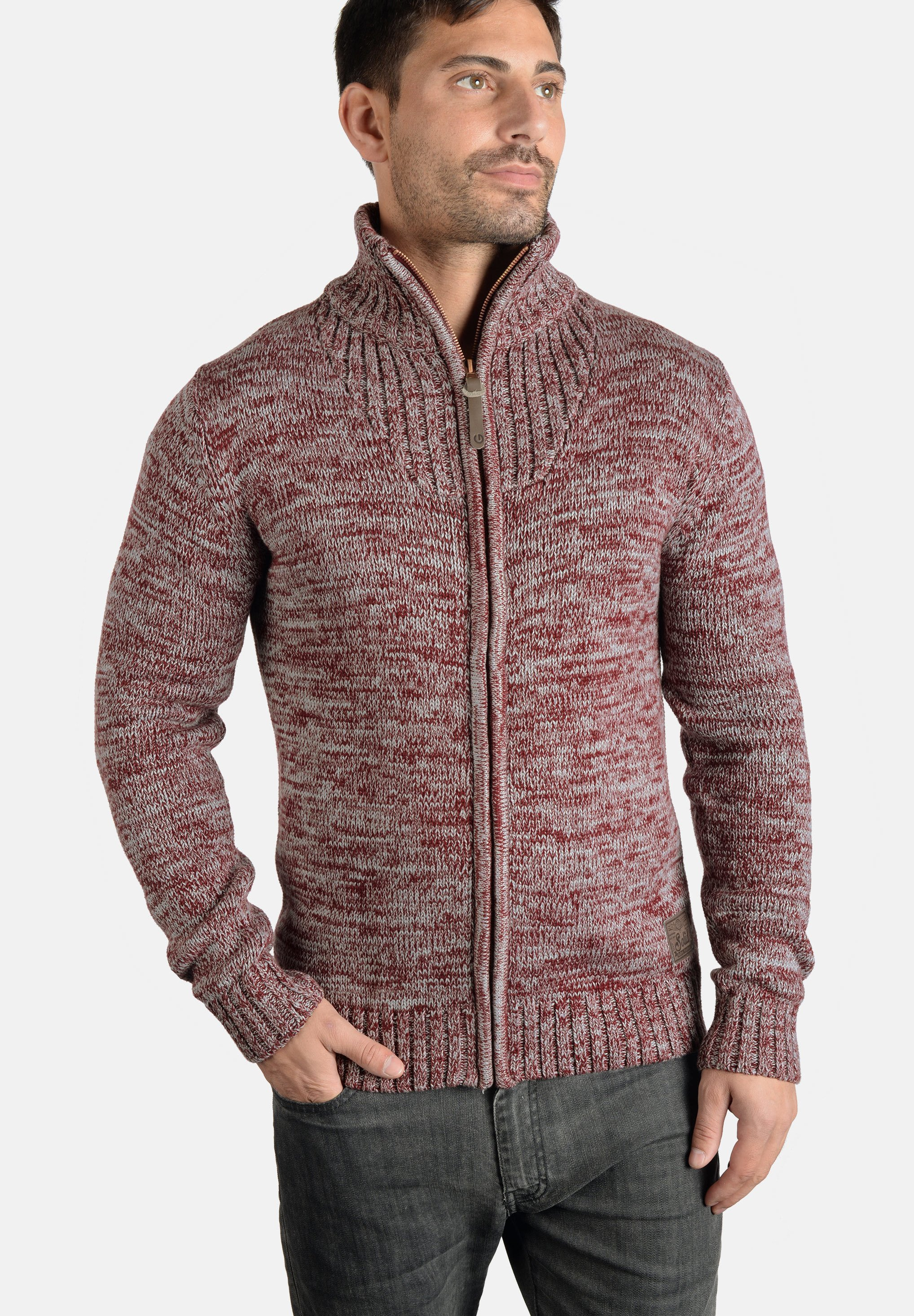 Homme POMEROY - Gilet - wine red