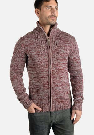 POMEROY - Cardigan - wine red