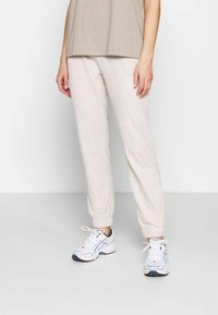 ONLY - ONLNELLA PANTS - Tracksuit bottoms - pumice stone - 0