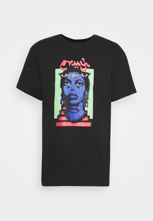 HIGH PRIESTESS TEE UNISEX - Print T-shirt - black