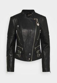 Diesel - L-IGE-NEW-A - Leather jacket - black - 6