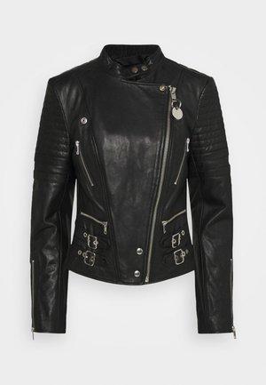 L-IGE-NEW-A - Veste en cuir - black