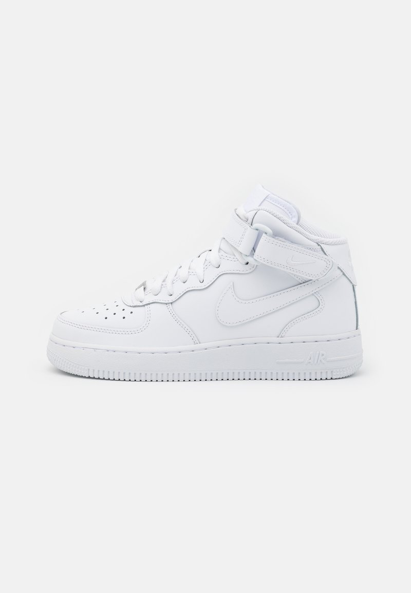 Nike Sportswear - AIR FORCE 1 MID  - High-top trainers - white