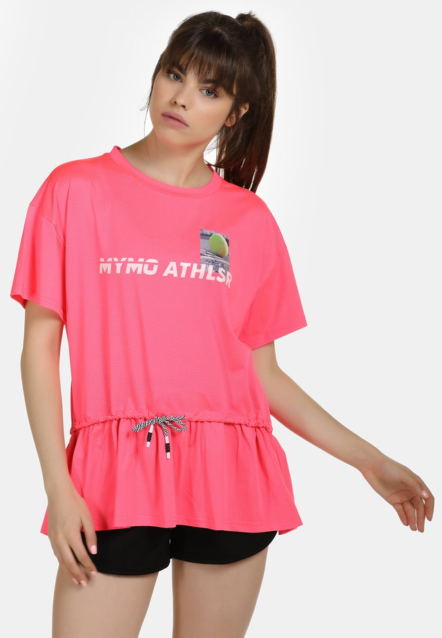 Pusero - neon pink