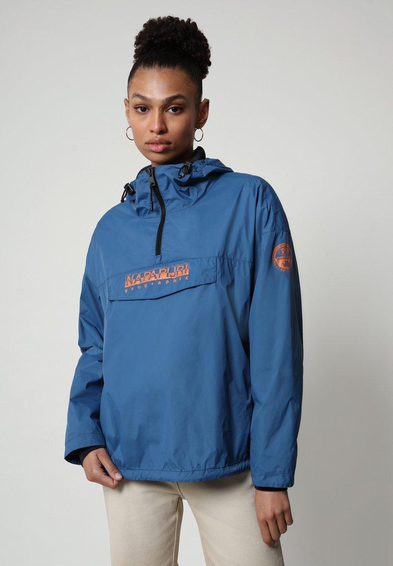 Napapijri - RAINFOREST CIRCULAR - Windbreaker - poseidon blue